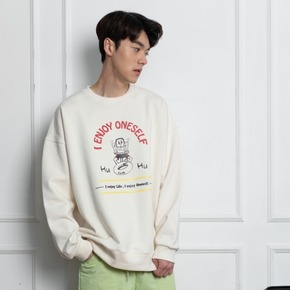 HU~HU SWEAT SHIRT남녀공용